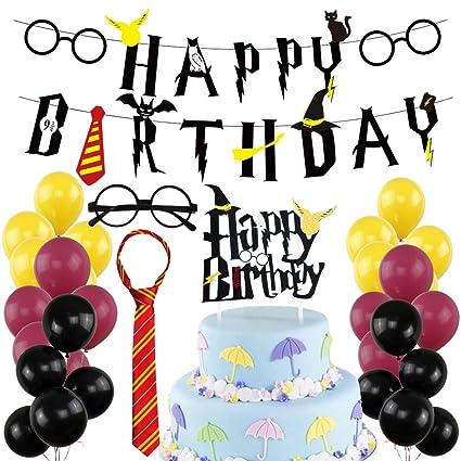 Amazon Harry Potter Happy Birthday Banner Harry Potter Big Cake
