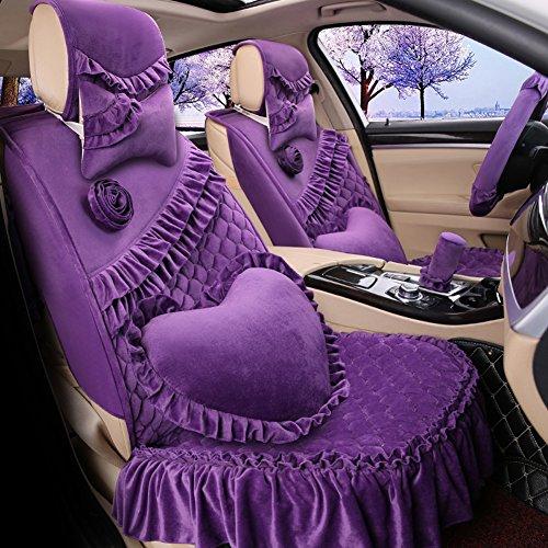 romantic-ruffles-velvet-vehicle-car-seat-covers-and-accessories-set-17pcs-purple