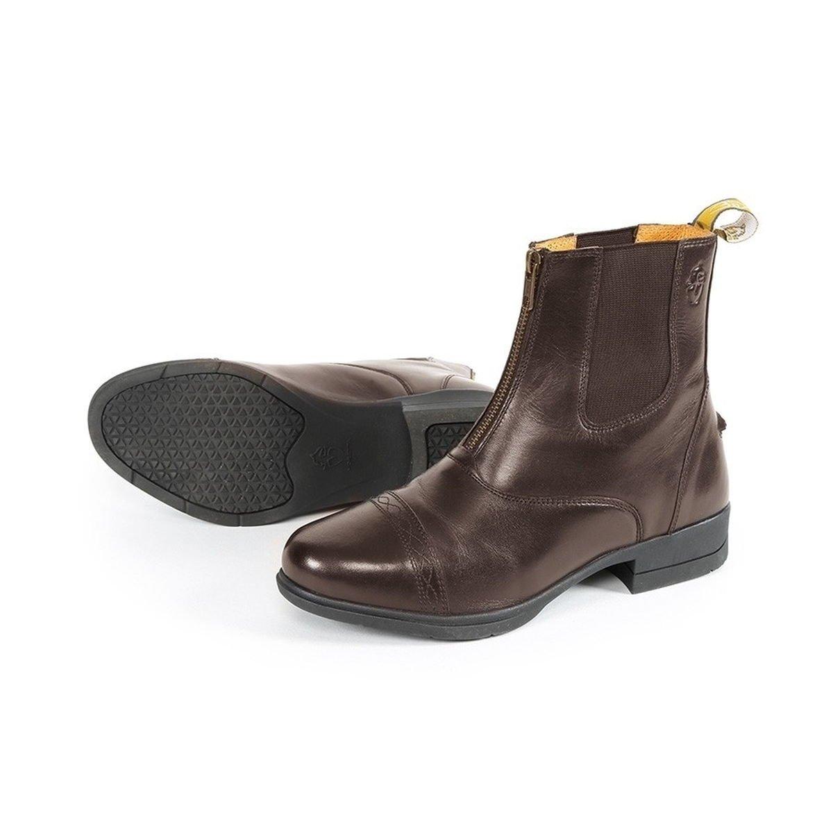 Shires Moretta Erwachsene Rosatta Zip Paddock Stiefel – Braun