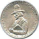 1920 P Silver Commems (1892-1954) Pilgrim Half Dollar AU58 PCGS