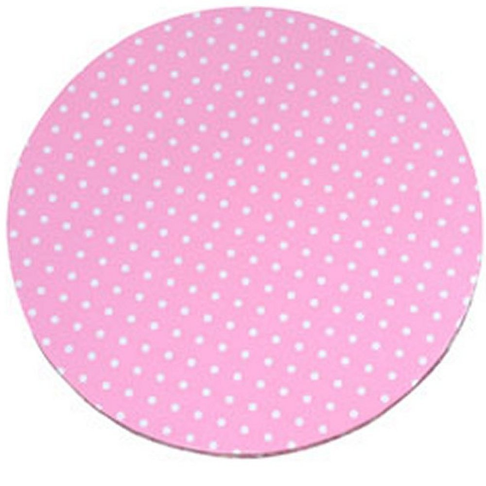Piatto sottotorta tondo rosa a pois Modecor D 30 cm Modecor Italiana
