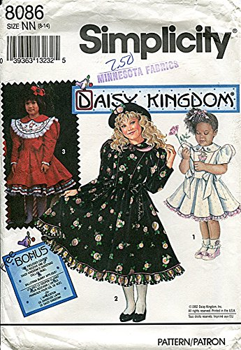 Used, Simplicity Daisy Kingdom Pattern 8086 Girls' and Child's for sale  Delivered anywhere in USA