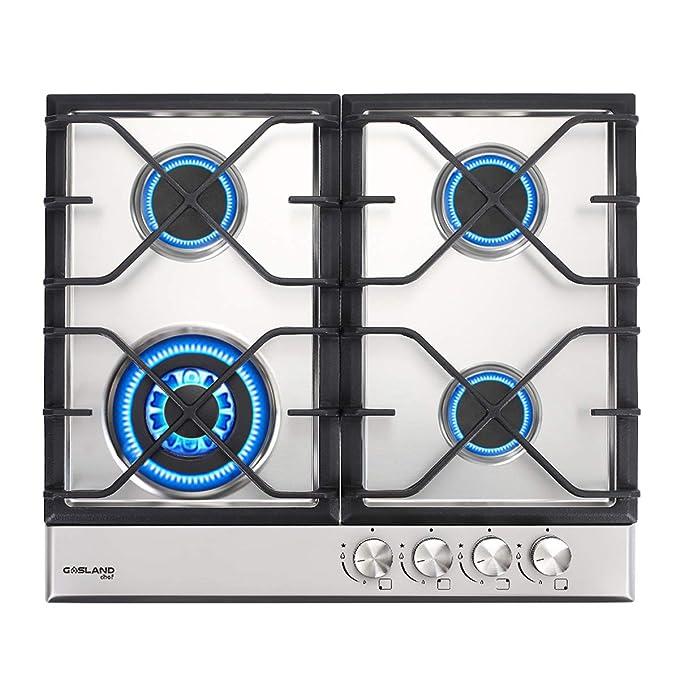 Amazon.com: Cocina de gas, Gasland chef GH60SF 24 Cocina ...