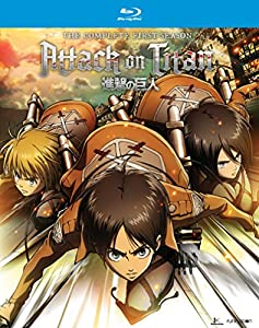 Attack on Titan: Complete Season One [Blu-ray] by Funimation