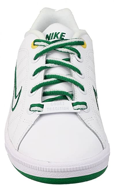 Nike - Court Tradition 2 GS - 316768104 - Color: Blanco-Verde - Size: 38.5 J46Hd