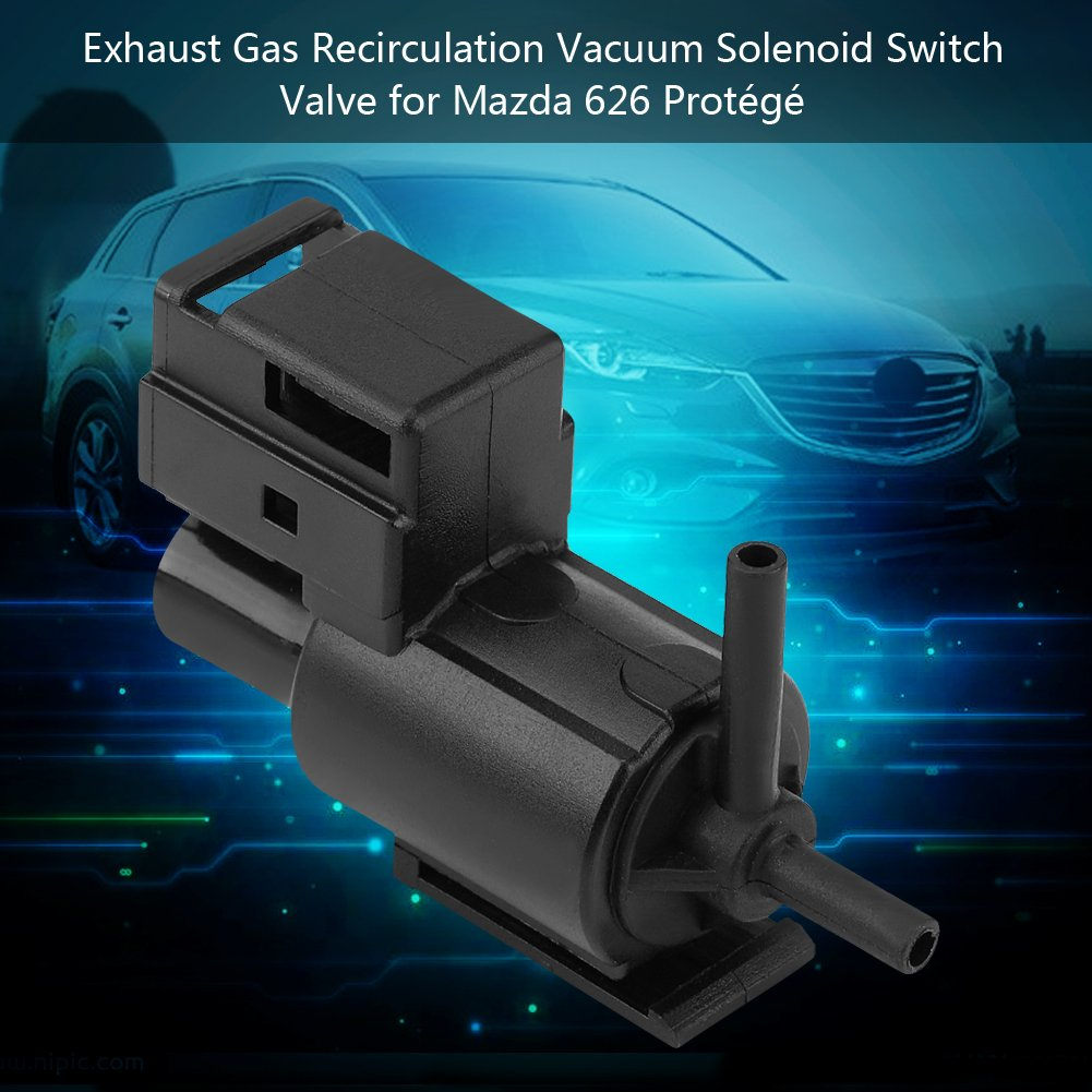 K5T49090 Original Engine Management EGR Valve for Mazda 626 Protege KL0118741 911707,K5T49099 Car Exhaust Gas Recirculation EGR Solenoid Valve Vacuum Control Switch K5T490 K5T49091