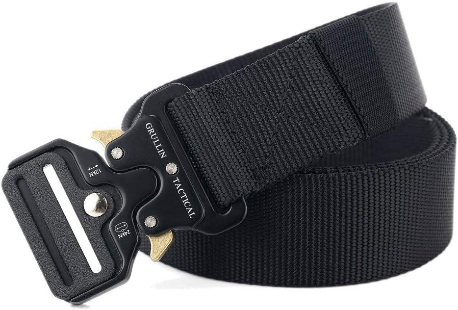 Heavy Duty Tactical Thicken Metal Insert Buckle Nylon Military Waist Belt Striki