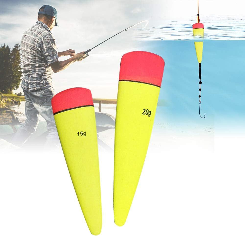 Kalaokei 3Pcs Eva Fishing Buoyancy Float Bobbers Drift Fish Bait Indicator Zubeh?r