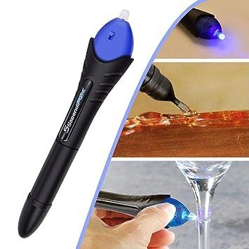 Woopower 5 segundos fijación Pen Soldadura de cristal líquido ...