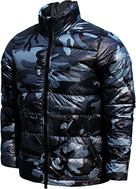 Nike Tech Alliance Camo 550 Lightweight Down Insulated Padded Puffer Jacket  Coat (Slate Gray Blue 4f8f769aa