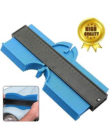 sheet metal Magnetic Contour Gauge SAE and Metric Markings Art /& Craft Hobbyist Construction Cutting on tile 6 In carpet more wood