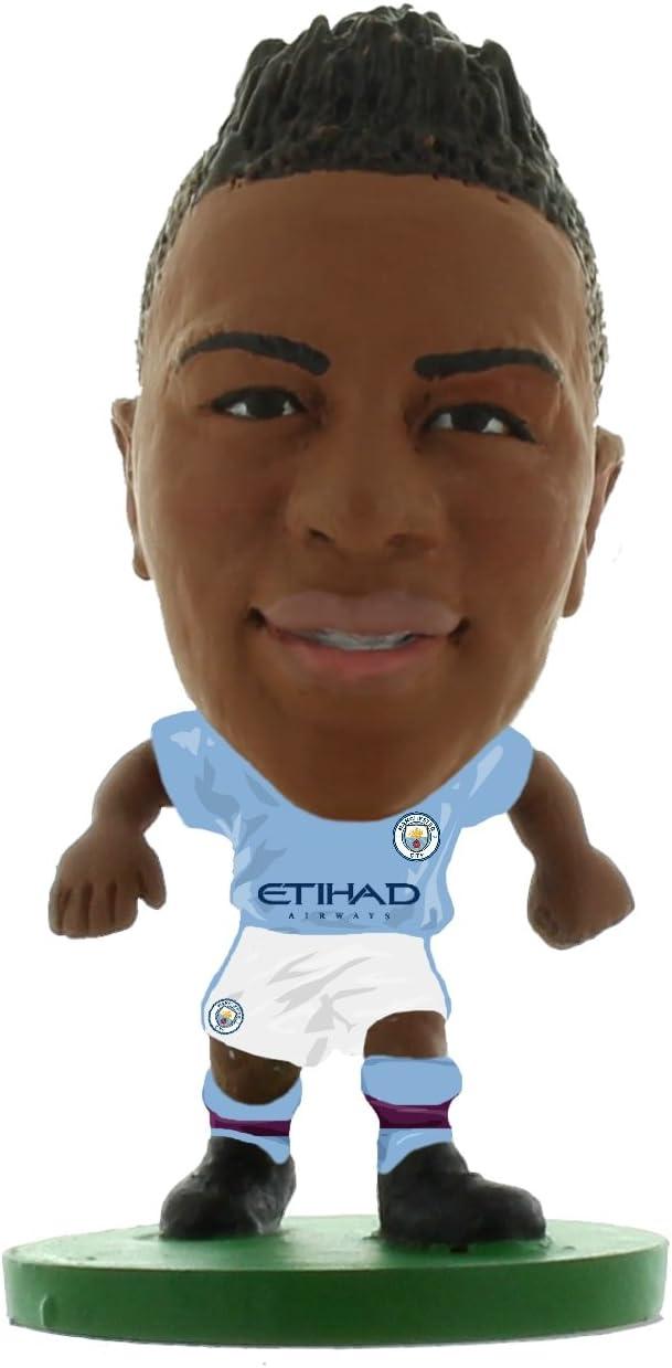 //cifre /Home Kit 2018/Version /Man City Raheem Sterling/ SoccerStarz SOC944/