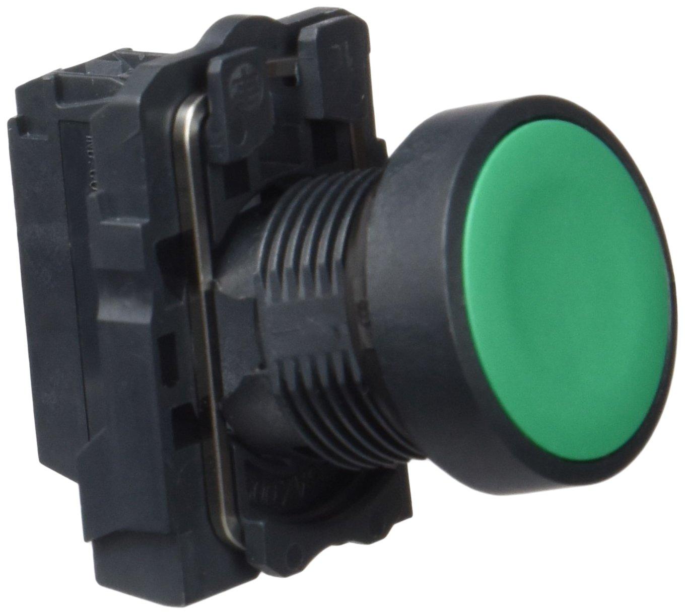 Ressort de rappel 22/mm de diam/ètre de montage Schneider Electric Xb5aa31/Push Button Full 1/NA DE nivellement /à encastrer Vert sans Marque