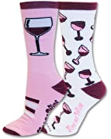 Sports Katz Crew Sock Wine (2 pair)