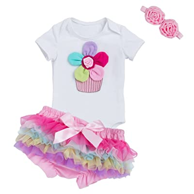 MEIHAOWEI Baby Fille Bodysuits Cotton Baby Fille Clothes Set