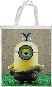 Cartoon character Printed Shopping bag, Large Size