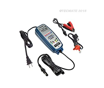 Cargador de batería Optimate 2 tecmate-3807 - 0126: Amazon ...