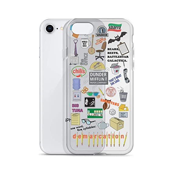 online store 361b0 bd760 Amazon.com: The Office Phone Case iPhone 6 7 8 Plus XS XR Max Dunder ...