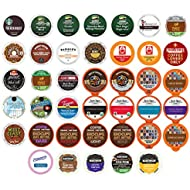 coffee variety sampler pack for keurig k cup brewers 40 count - Amazon Christmas Sale