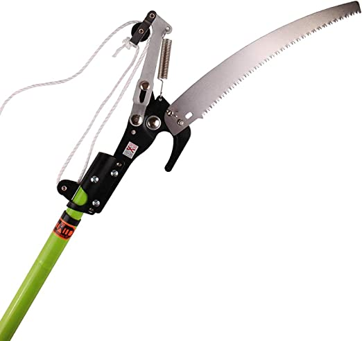 Extendable Telescopic Lopper With A Pruning Saw - Best 2 in 1 Tool