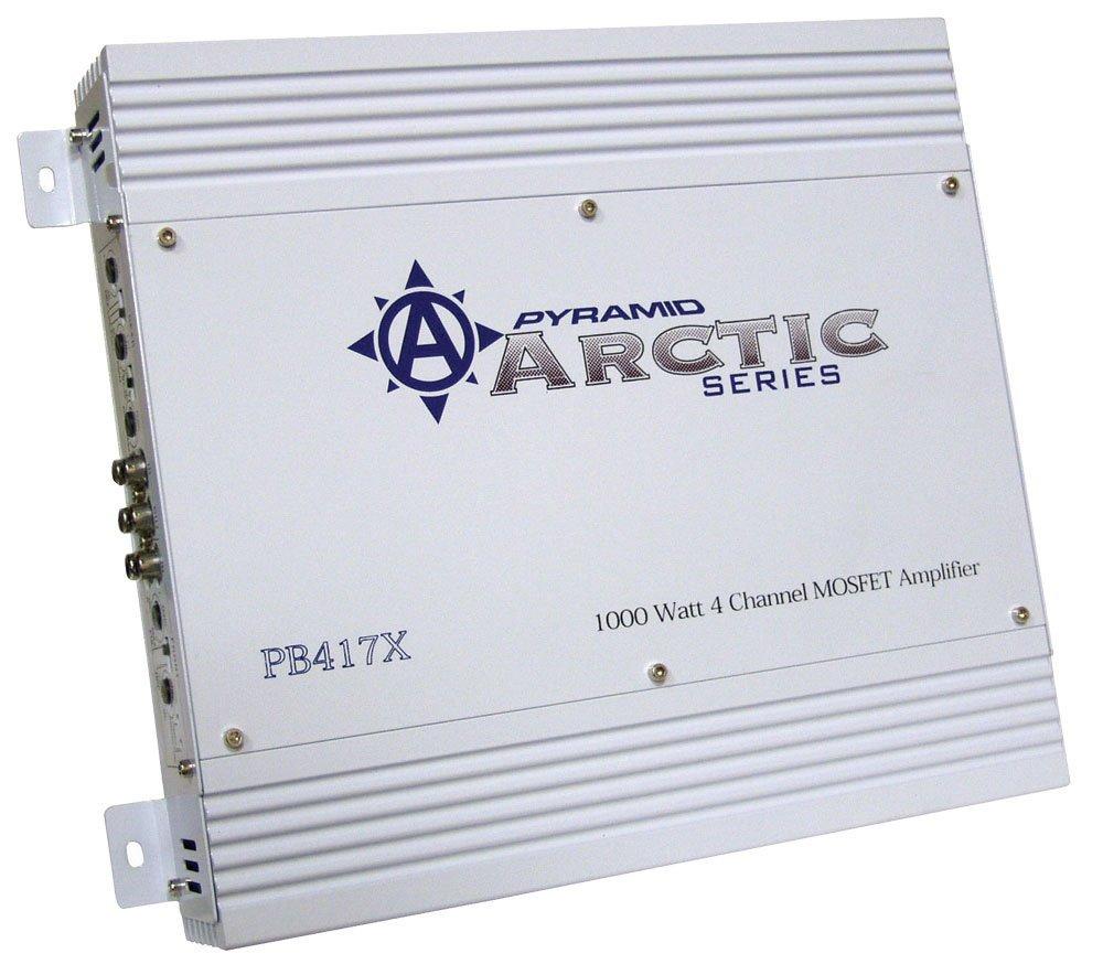 Pyramid Pb417x 1000 Watt 4 Channel Bridgeable Mosfet Rockford Fosgate R600x5 600w 5 Amplifier With Wiring Kit Car Electronics