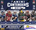 2013 Panini Contenders Football Factory Sealed 24 Pack HOBBY Box with FIVE(5) AUTOGRAPHS & 12 INSERTS! Look for Rookie Autographs of LE'VEON BELL!WOWZZER!