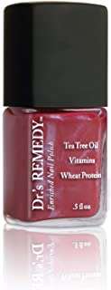product image for Dr.'s REMEDY Enriched Nail Polish, CHEERFUL Cherry, 0.5 fl. oz.