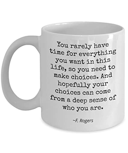 Amazon Com Mr Rogers Famous Quotes You Rarely Have Time For