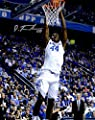 "Dakari Johnson Kentucky Wildcats Autographed 8"" x 10"" Dunking Photograph - Fanatics Authentic Certified"