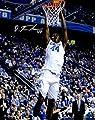 "Dakari Johnson Kentucky Wildcats Autographed 8"" x 10"" Dunking Photograph - Fanatics Authentic Certified"