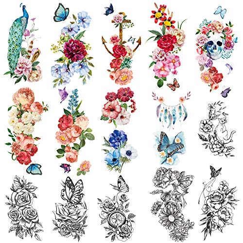 Yazhiji waterproof Temporary Tattoos Collection product image