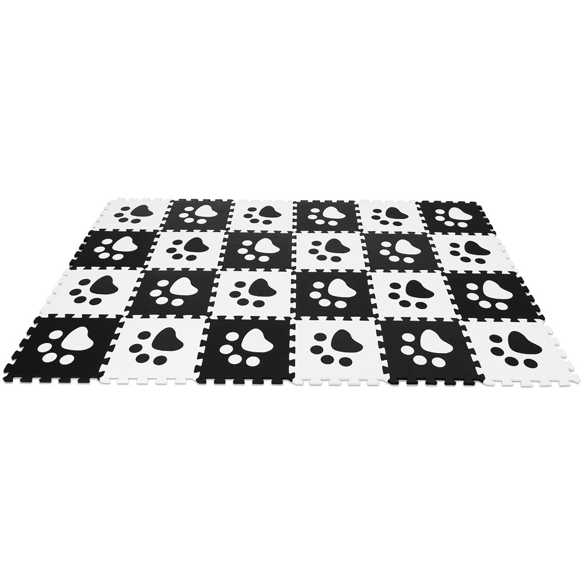 Costzon Puzzle Exercise Mat with EVA Foam Interlocking Tiles EVA Mats Also Fit to Use at Home or Other Ways Needed for Protecting