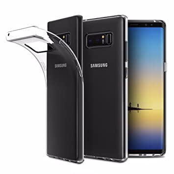 coque officielle samsung galaxy note 8 clear cover transparente