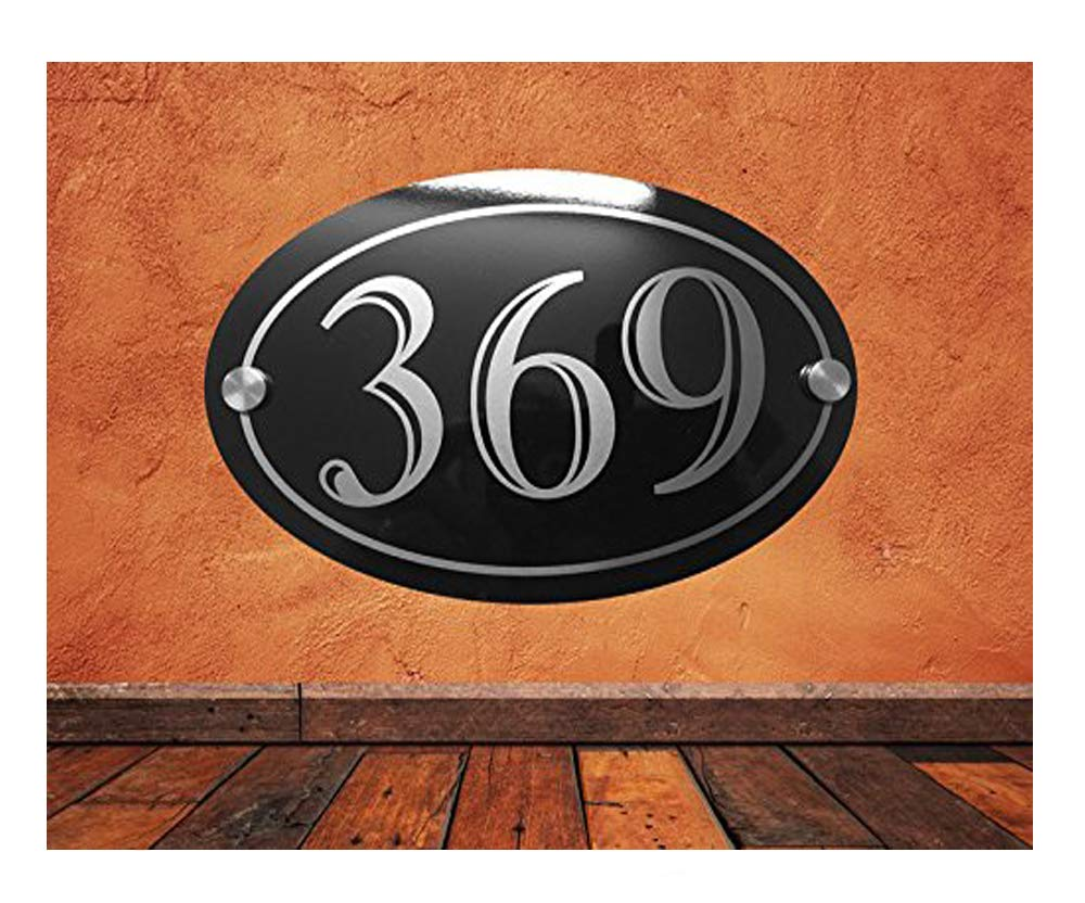 Custom Vintage Stove Enamel House Number Plaques - Laser Engraved - Lifetime Guarantee Uk House Signs