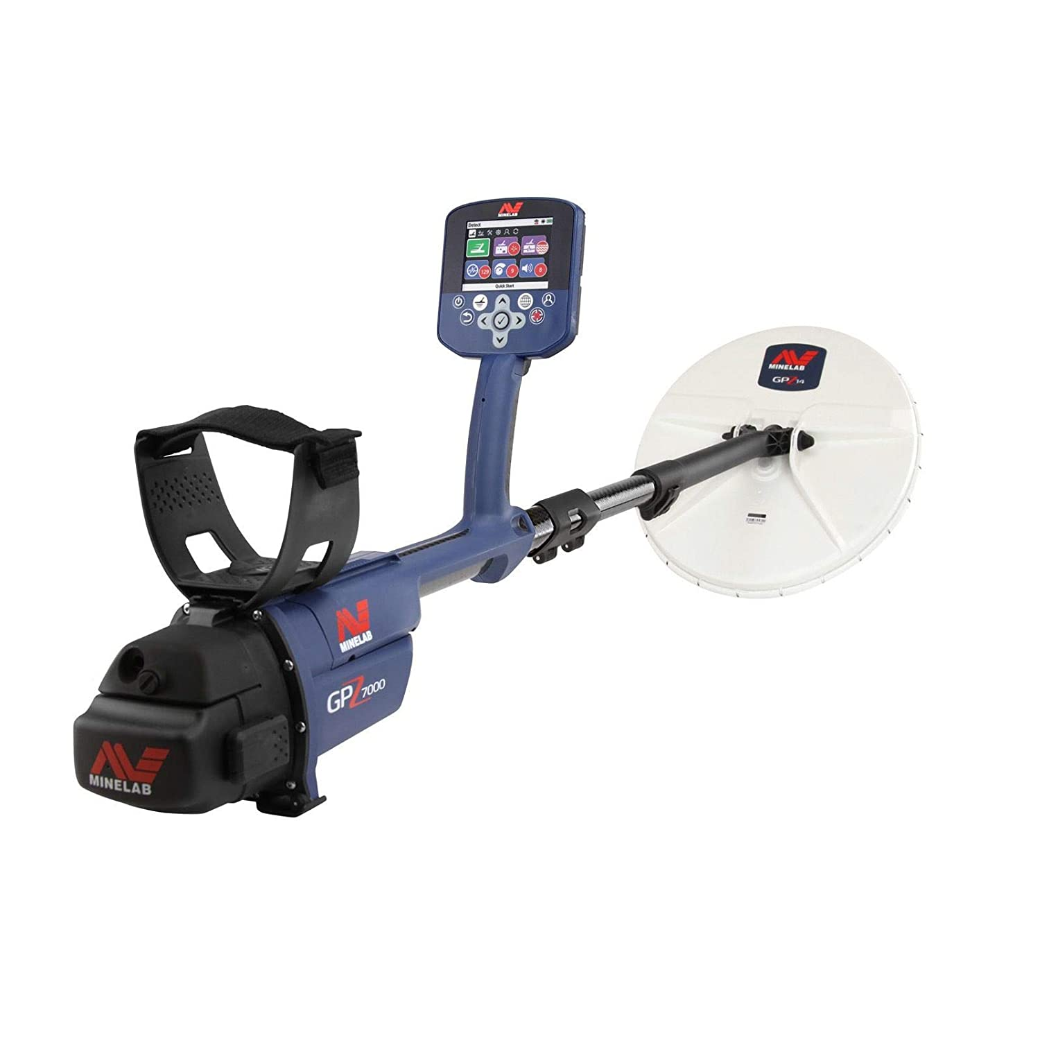 Amazon.com : Minelab GPZ 7000 Gold Detector Holiday Bundle with Extra Li-ion Rechargeable Battery : Garden & Outdoor