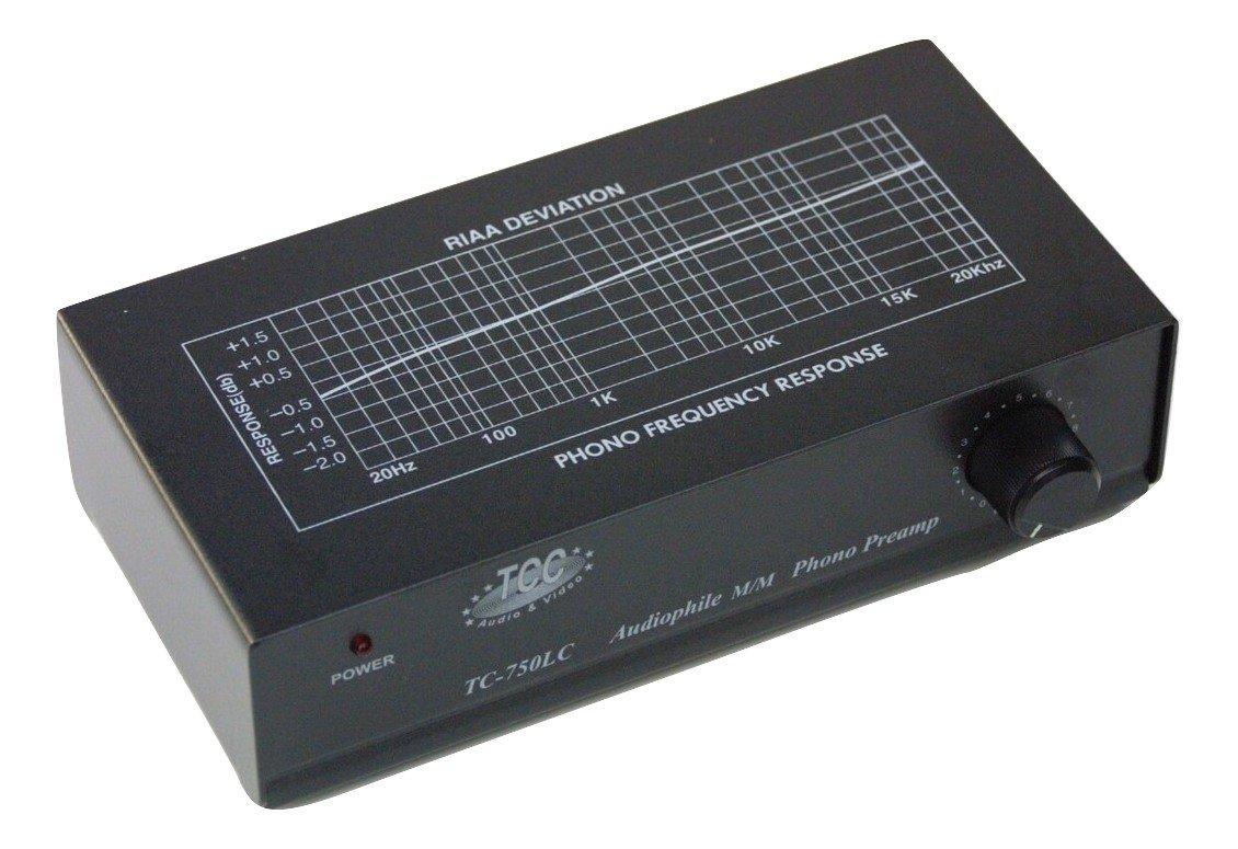 TCC tc-750lc preamplificador Phono: Amazon.es: Electrónica
