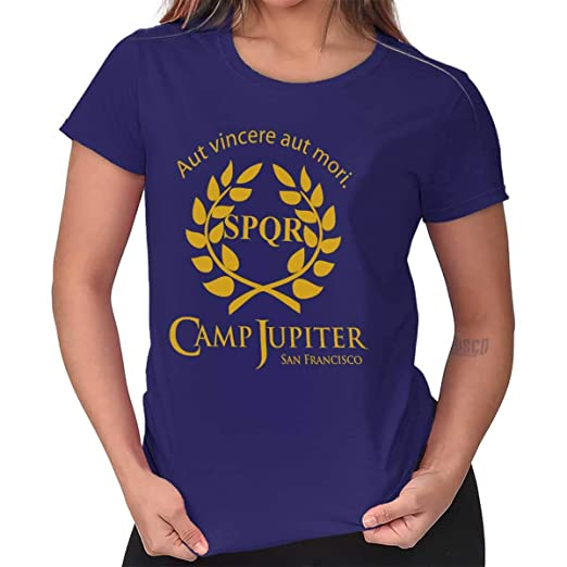 ab663dc0 Camp Jupiter Half Blood Percy Jackson Gym Ladies T Shirt at Amazon ...