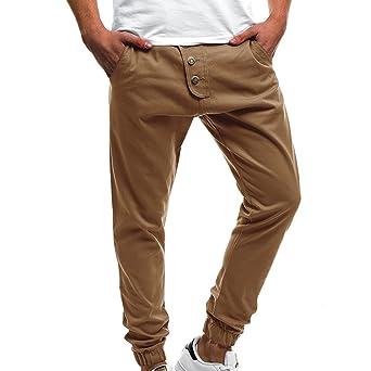 0cad28db3d435 Moonuy Homme Outdoor Cargo Pantalon De Loisir Travail Bermuda Lavage Grand  Taille Pantalon Longue Multi Poches
