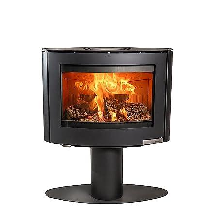 Aduro 15 – 4 6,5 kW negro contemporáneo estufa de leña