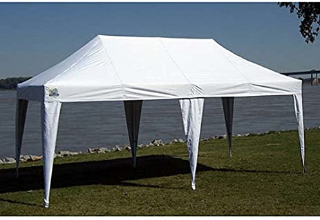 Outdoor Canopy 10x20 ft. Heavy Duty Aluminum Pop Up Tents Awnings Gazebo Patio Garden & Amazon.com: Outdoor Canopy 10x20 ft. Heavy Duty Aluminum Pop Up ...