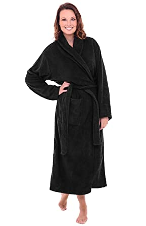 Alexander Del Rossa Womens Turkish Terry Cloth Robe 96c606368