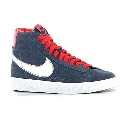 new style c130b 21af2 Amazon.com   Nike Trainers Shoes Kids Blazer Mid Vintage Bg Dark Blue    Shoes
