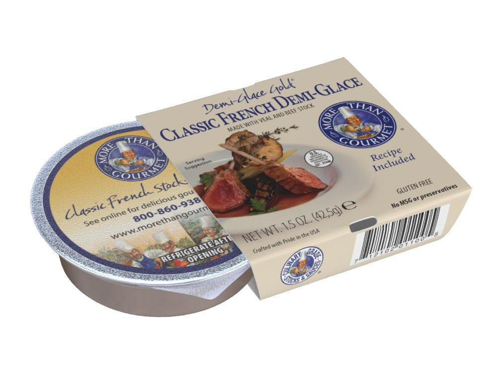 More Than Gourmet Classic French Demi Glace, 1.5 Ounce (Pack of 6)