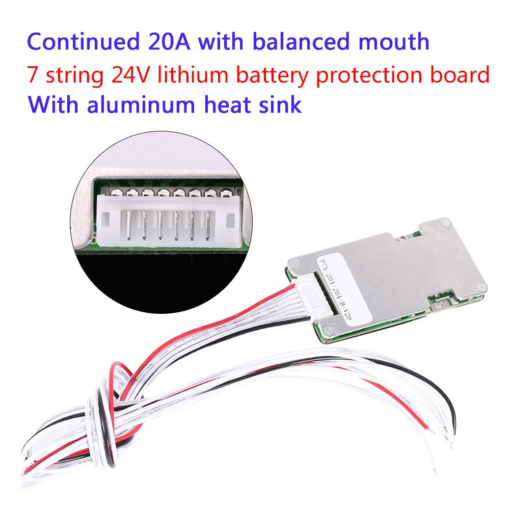 Lithium Li Ion Lifepo4 Battery Bms Protection 24v Wiring Diagram Board With Balancing 1 Home Improvement