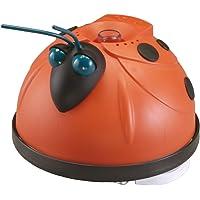 Steinbach-80107-HAYWARD Magic Clean Schwimmbadreiniger, inkl. 9,6 m Spezialschlauch, orange