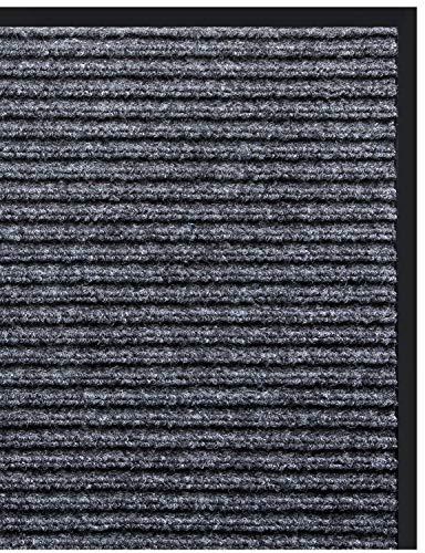 Vdomus Door Mat Shoe Scrapper & Rubber Backing Doormat Indoor Outdoor Entry Way Rug, for High Traffic Areas (Door ()