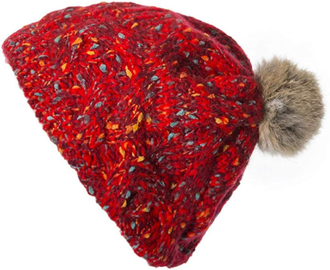 Women Winter Warm Ball Pom...