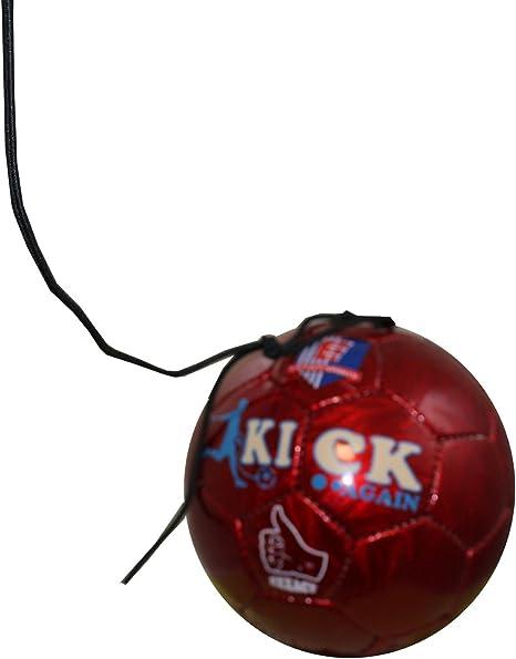 Exxact – Kick Again – Balón de fútbol de Entrenamiento con Cuerda ...