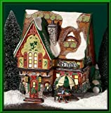 Department 56 North Pole McElfin's Irish Restaurant & Gifts