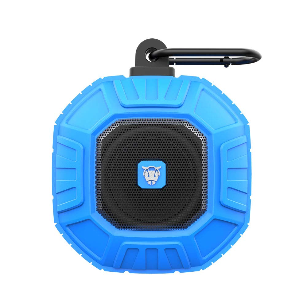 Ant Audio Ammo Portable IP66 Bluetooth Speakers (Blue)